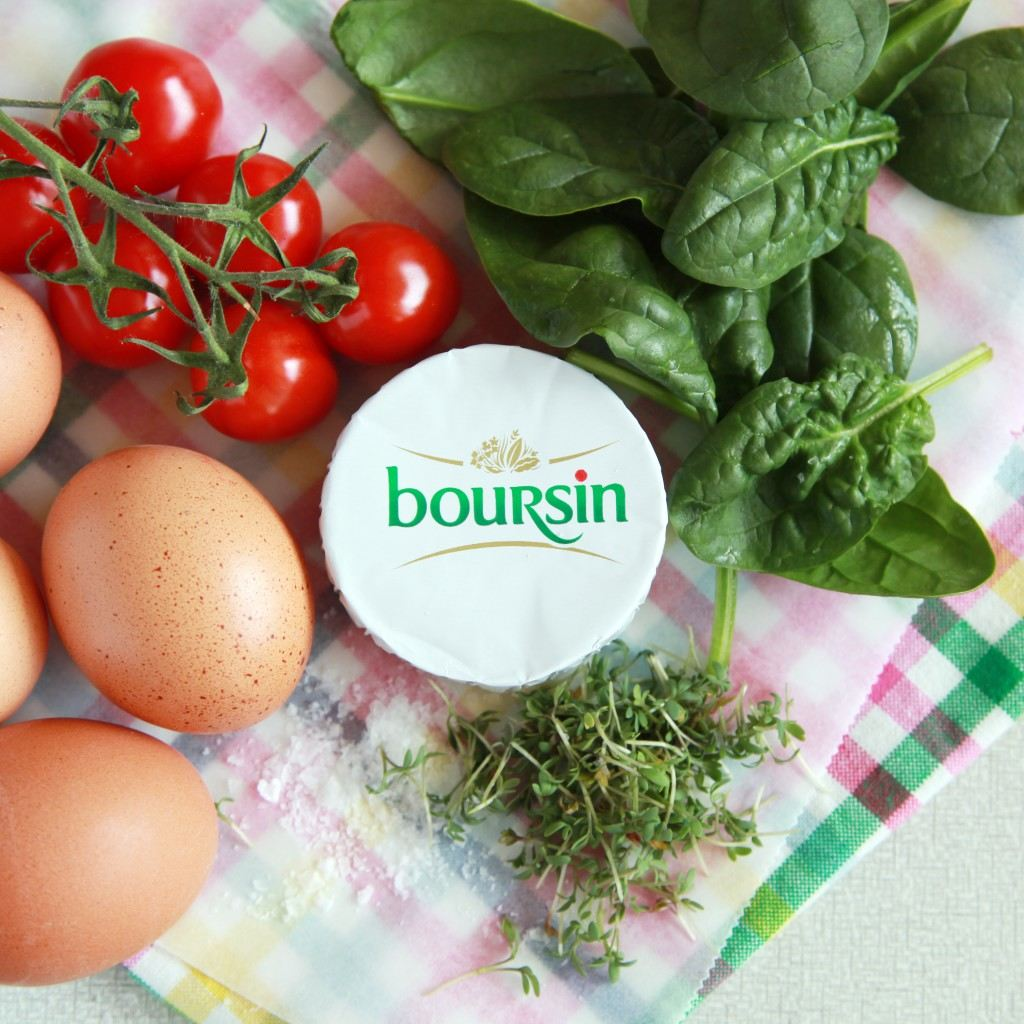 Boursin ingredienten eitje uit de oven