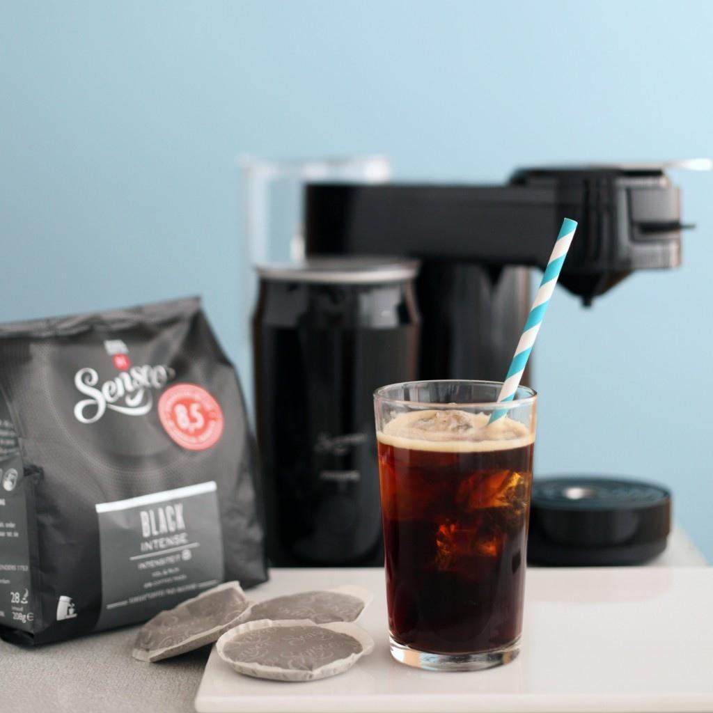iced coffee hazelnoot