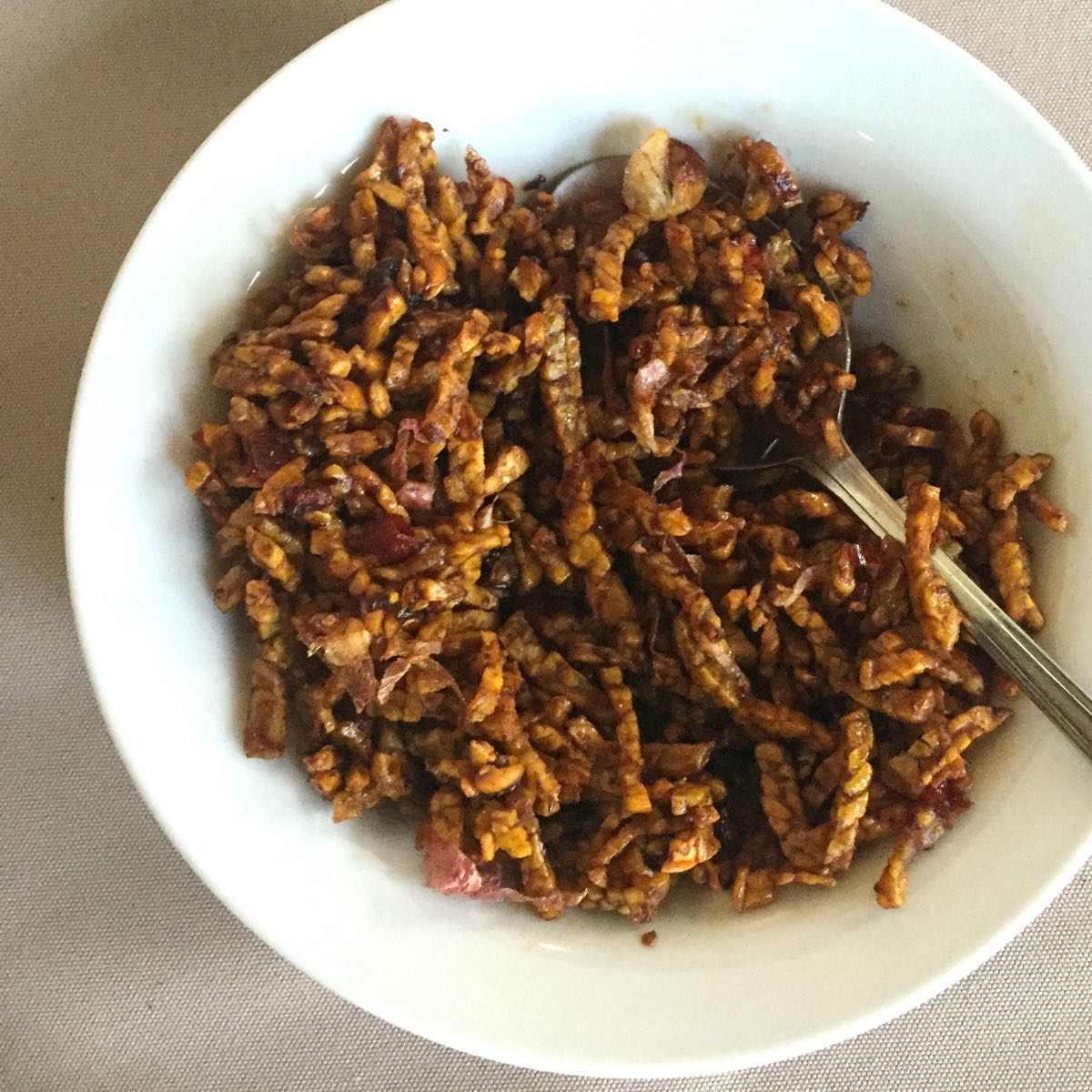 Tempeh goreng recept