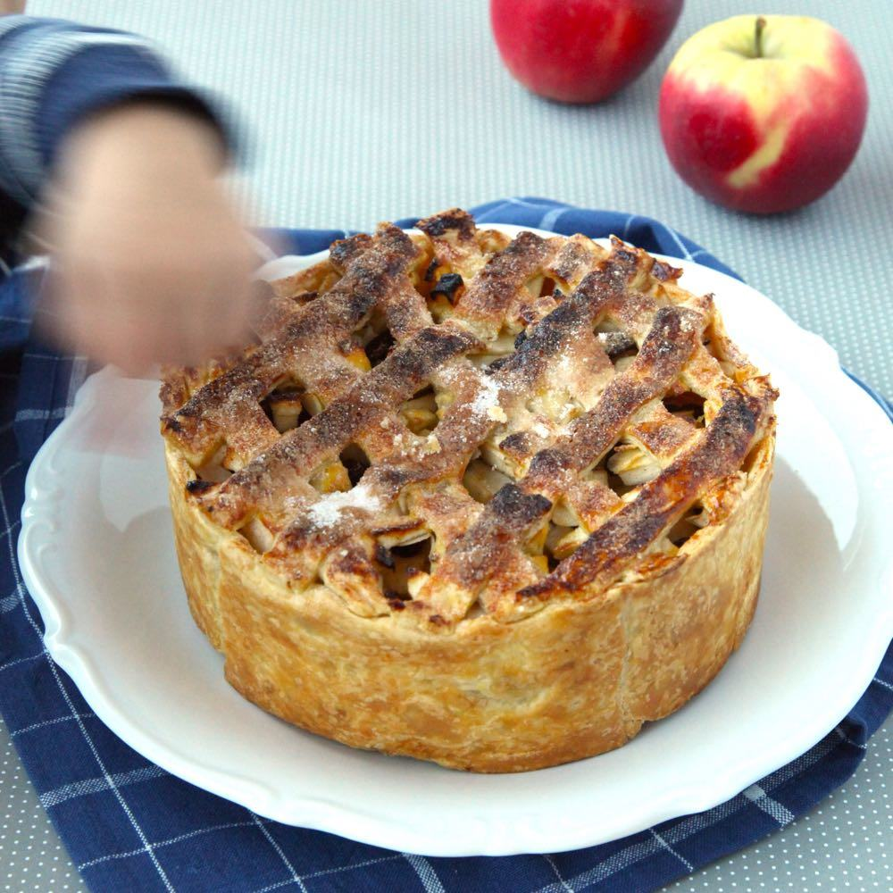 snelle appeltaart