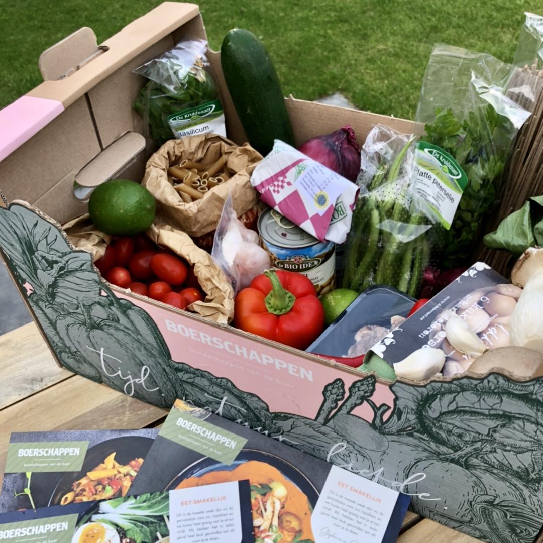 Boerschappen heeft een lekker verse maaltijdbox